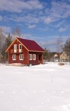 Каркасный дом Молоково (1)