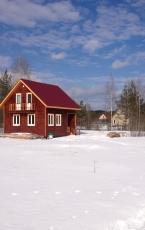 Каркасный дом Молоково (2)